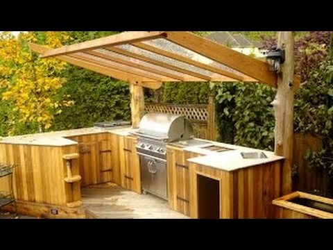 40 cuisine ext rieure et barbecue id es 2017 petite et grande cuisine en plein air 2 youtube. Black Bedroom Furniture Sets. Home Design Ideas