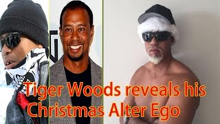 Tiger Woods Reveals His Christmas Alter Ego | Mac Daddy Santa
