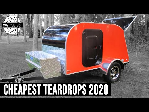 10 Cheapest Teardrop Trailers To Buy New For Camping On The Tightest Budget