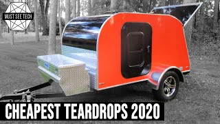 10 Cheapest Teardrop Traİlers to Buy New for Camping on the Tightest Budget