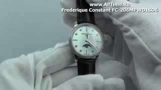 Обзор. Женские наручные часы Frederique Constant FC-206MPWD1SD6