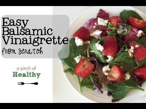 Easy Balsamic Vinaigrette From Scratch.mp4