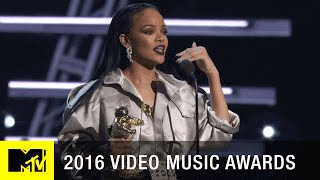 Rihanna Accepts Michael Jackson Vanguard Award | 2016 Video Music Awards | MTV