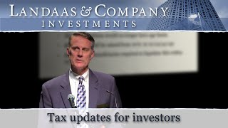 Tax updates for investors