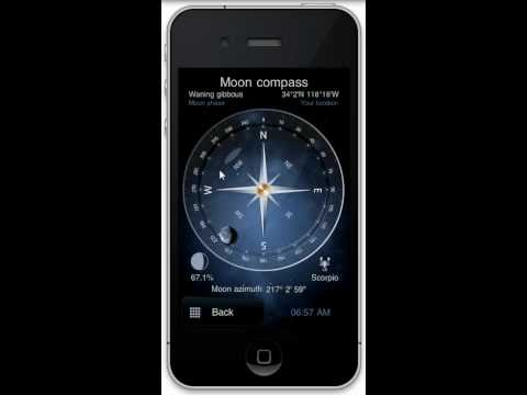 Moon Phase Application: Deluxe Moon For iPhone