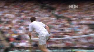 Andy Murray - Forehand and Flick Pick Up Shot