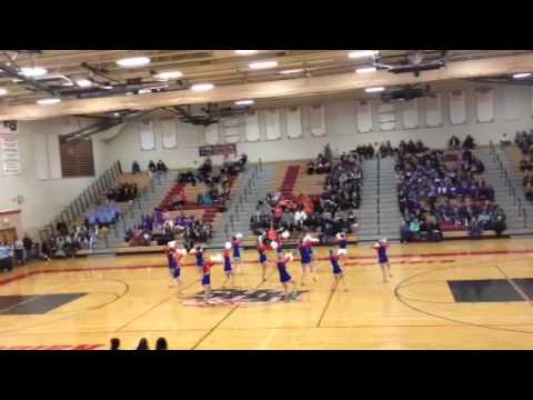 Dundee Crown High School Varsity Dance Team