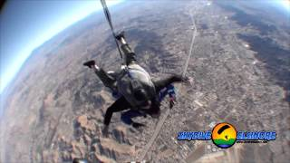 Arin's First Tandem Skydive