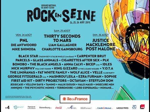 IDLES - Paris Rock-en-Seine Festival - 26.08.2018
