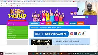 MAKE MONEY FROM CHILDREN BOOK USING THE IDEA FROM FREE ONLINE BOOKS screenshot 4