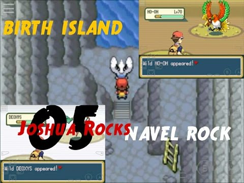 POKEMON FIRE RED | CHEAT FOR BIRTH ISLAND AND NAVEL ROCK