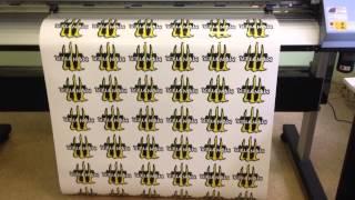 Печать наклеек на самоклеющейся пленке(Печать с контурной резкой на roland vs 640i , печать любых наклеек, отправка по России., 2015-09-04T17:48:40.000Z)