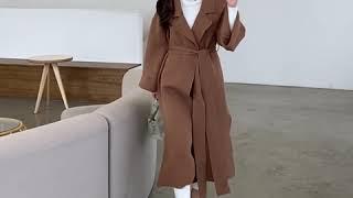 톡톡한 두께감과 루즈한 핏감으로 코트같은 가디건