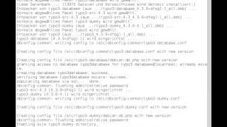 Typo3 Installation (vorbereitung / teil 1 ) unter Linux ( Debian 6.0 squeeze )