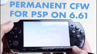 PERMANENTLY HACK (CFW) YOUR PSP 6.61! 2018 Tutorial
