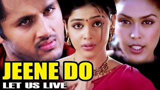 Jeene Do - Let Us Live | Full Movie | Raam | Nitin | Genelia D'Souza | Hindi Dubbed Movie