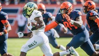 Illinois Football Highlights vs. South Florida 9/15/18