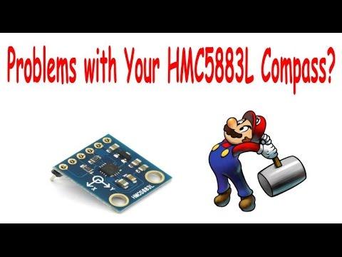 HMC5883l magnetometer compass problems?