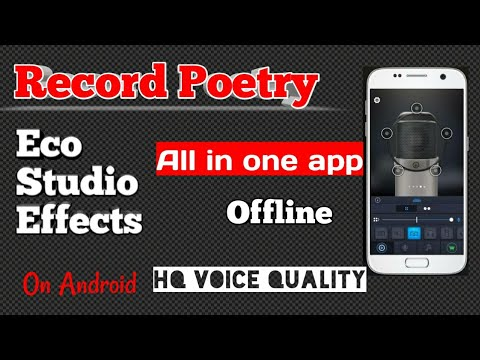 How to record poetry with music | Record Shayri with background Music and eco effect | Shahid Dash,,