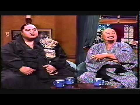 Yokozuna & Mr. Fuji on 'Late Night with Conan O'Brien' - 11/22/93
