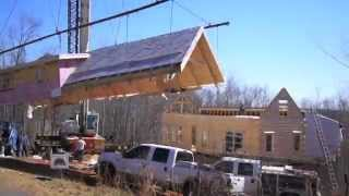 Log Cabin Build Day With The Visser's: Blowing Rock 1 Floor Plan