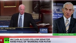 He overstepped the line – Ron Paul on McCain accusing Rand Paul of 'working with Putin'
