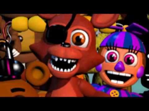Casi Todas las voces de Five Nights at Freddy's 1, 2 ,3 Y 4