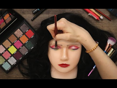 ASMR Makeup on Doll Head (Whispered) - Shane Dawson Conspiracy Palette thumbnail