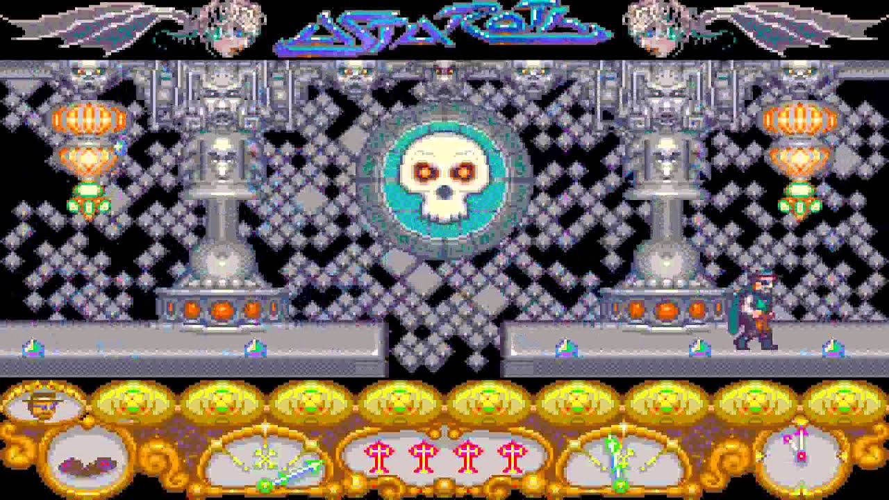 ATARI ST ASTAROTH By Hewson FROM Automation Compact Disk CD No 121 st zip