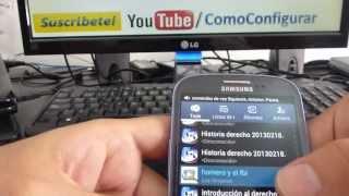 Como cambiar el ringtone de mi samsung galaxy S3 español