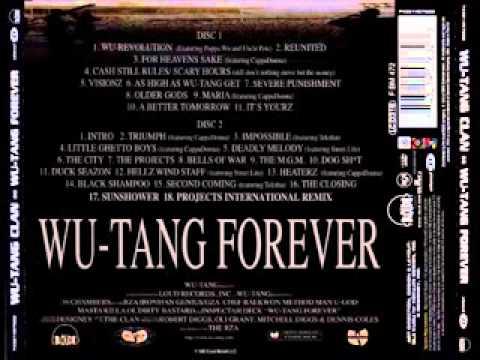 1997   Wu Tang Clan   Wu Tang Forever  (Double cd) (álbum full)