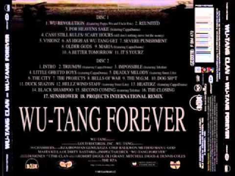 1997   Wu Tang Clan   Wu Tang Forever  (Double cd) (álbum full)