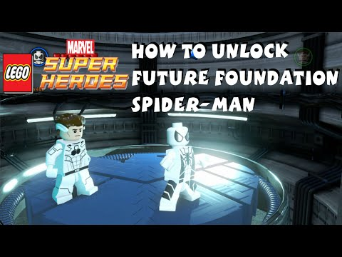 How to Unlock Future Foundation Spider Man in Lego Marvel Super Heroes - Spider-Man