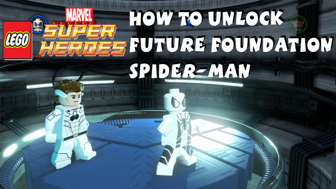 How to Unlock Future Foundation Spider Man in Lego Marvel ...