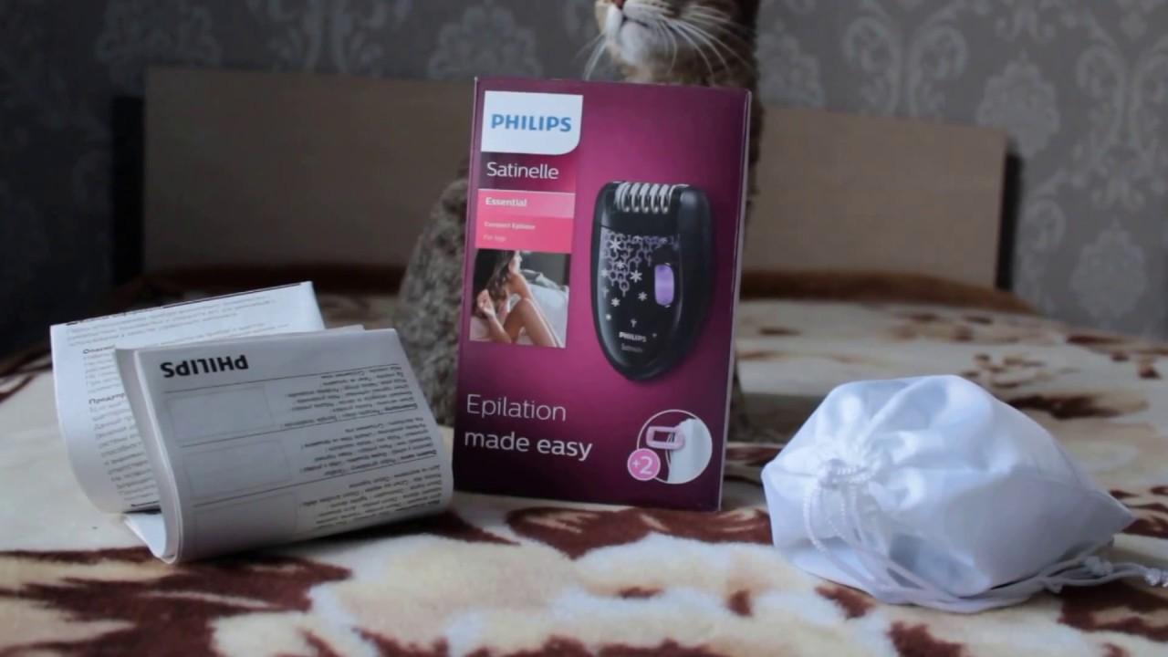 Эпилятор Philips HP 6422 - YouTube 4981301c64