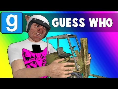 Thumbnail: Gmod Guess Who Funny Moments - Bunnies on a Plane! (Garry's Mod)