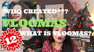 🎄Vlogmas Day 12 WHAT IS VLOGMAS? Who created vlogmas? Sino? Wie? | East Meets West by Jeroen &Kyn♥️