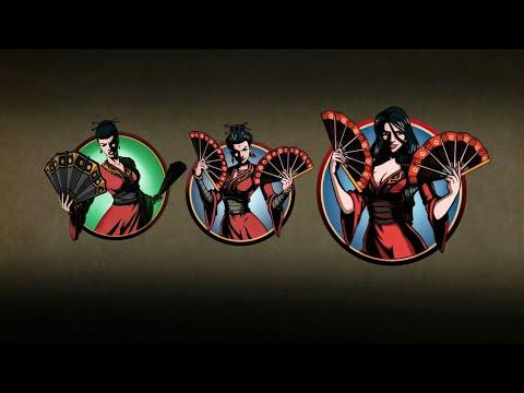 Shadow Fight 2 vs All Widow Boss in Shadow Fight 2 History
