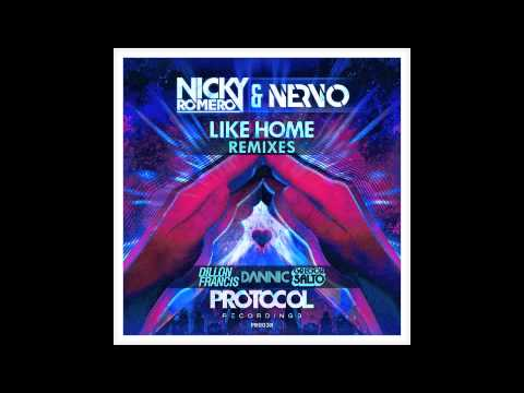 Download Like Home (Dillon Francis Remix) - NERVO & Nicky Romero