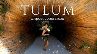 How to Travel Tulum CHEAP | Tulum Mexico Travel Vlog