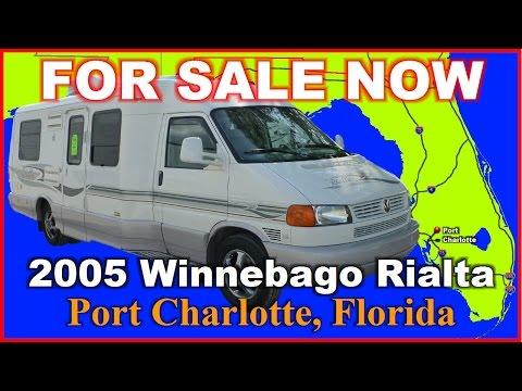 2005 Winnebago Rialta 22HD Used Class B Motorhome, Florida, Port Charlotte, Fort Myers, Sarasota