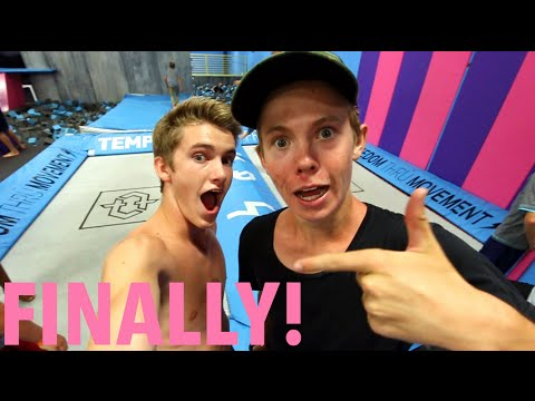 Thumbnail: TRAMPOLINE WITH TANNER!