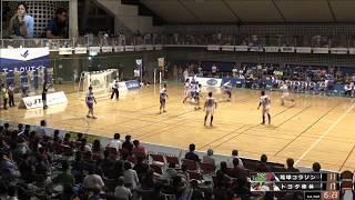 日本ハンドボールリーグ 琉球コラソン vs トヨタ車体 後半