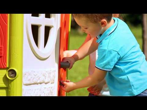 Smoby Jura Lodge Childrens Playhouse indoor or outdoor fun for kids