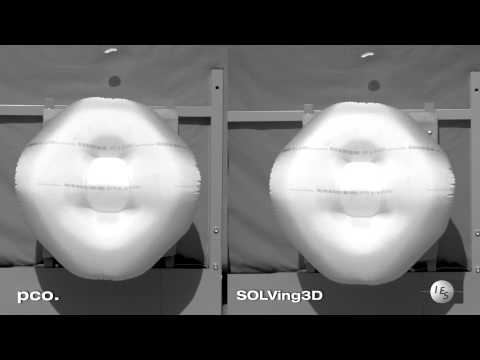 airbag inflation in slow motion (5000 fps)