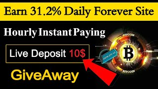 PammBits.Club New Investment Site Hourly Instant Paying, Earn Daily 31.2% Daily Forever, GiveAway