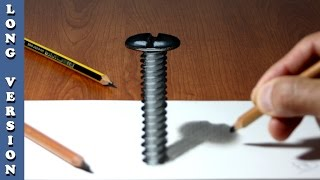 Screw   3D Trick Art on Paper, Long Version