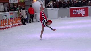浅田舞さんは何処でも人気でした。 Sapporo Snow Festival 2017.