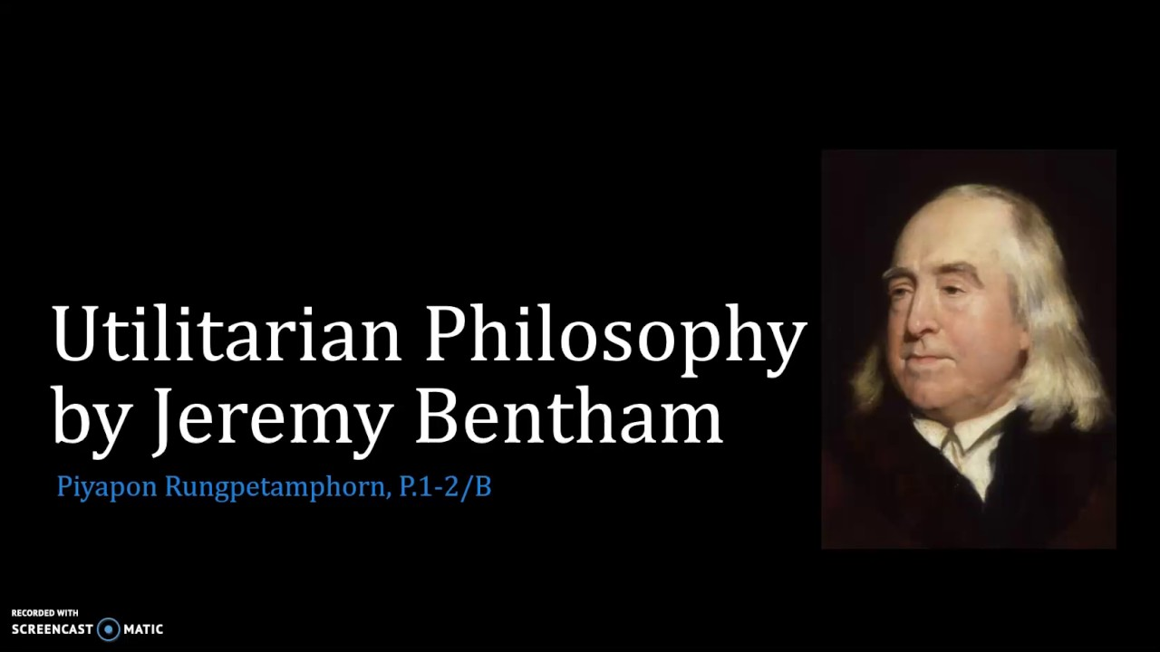 the genesis of the utilitarianism from jeremy bantam in england Start studying utilitarianism- bentham and mill according to jeremy bentham bentham's theory of utilitarianism was radical for its time because in its.