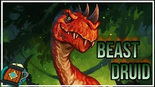 Hearthstone : Deck Tech Beast Druid (Mushrooms and Carrots) Journey to Un